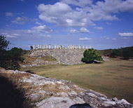 Atlantes Temple at Ake - ake mayan ruins,ake mayan temple,mayan temple pictures,mayan ruins photos