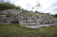 Small Temple at Ake - ake mayan ruins,ake mayan temple,mayan temple pictures,mayan ruins photos