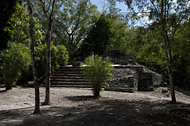 South Group at Balamku - balamku mayan ruins,balamku mayan temple,mayan temple pictures,mayan ruins photos