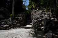 Annex in Becan's East Plaza - becan mayan ruins,becan mayan temple,mayan temple pictures,mayan ruins photos