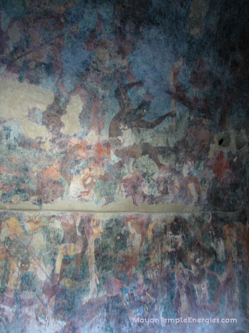 Balamku mayan temple in chiapas mexico photo gallery for Bonampak mural painting