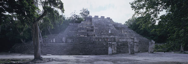Peten Architectural Style example from Calakmul.
