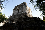 Photo tour of the Mayan Ruins at Chicanna - yucatan mayan ruins,yucatan mayan temple,mayan temple pictures,mayan ruins photos