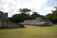 Ball Court at Ek Balam - ek balam mayan ruins,ek balam mayan temple,mayan temple pictures,mayan ruins photos