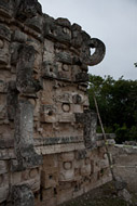 Mayan Palace of the Masks at Kabah - kabah mayan ruins,kabah mayan temple,mayan temple pictures,mayan ruins photos