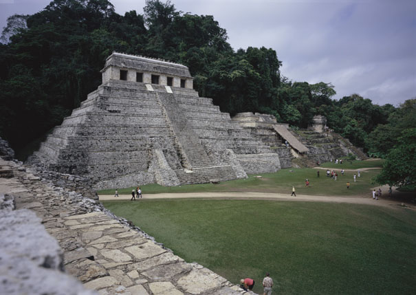 Palenque Mayan Temple